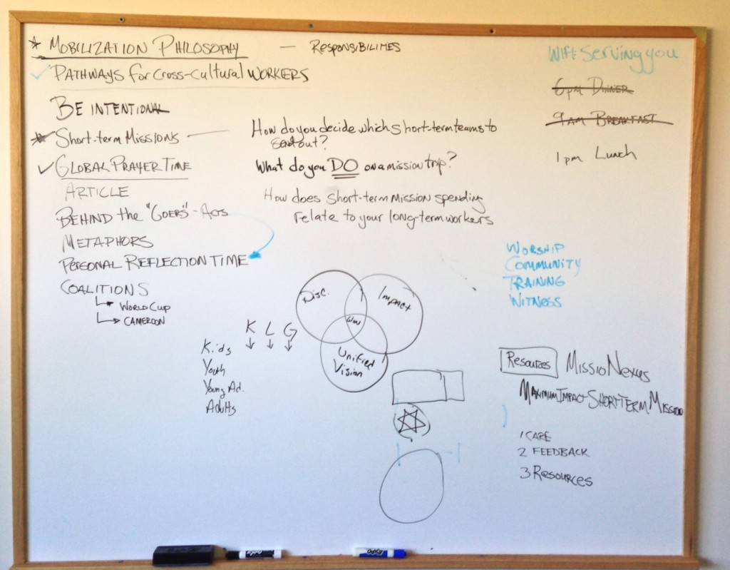 Mobilizer Retreat Whiteboard 2013