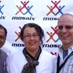 Mosaix with Rosa & Jesus