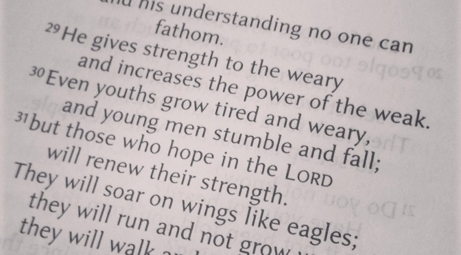 Strength from The Lord